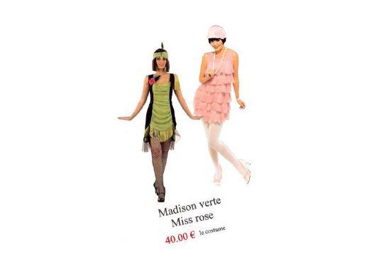 Costume Années Folles