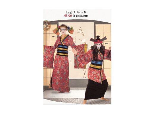 Costume Asie