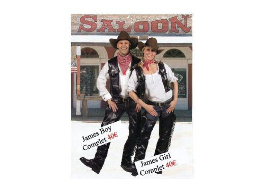 Costume Cowboys et Indiens