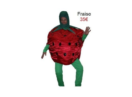 Costume Fruits / Légumes