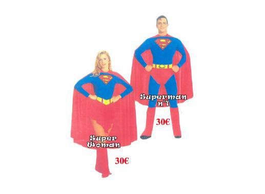 Costume Héros d'hier, d'aujourd'hui