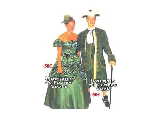 Costume Vie de Château