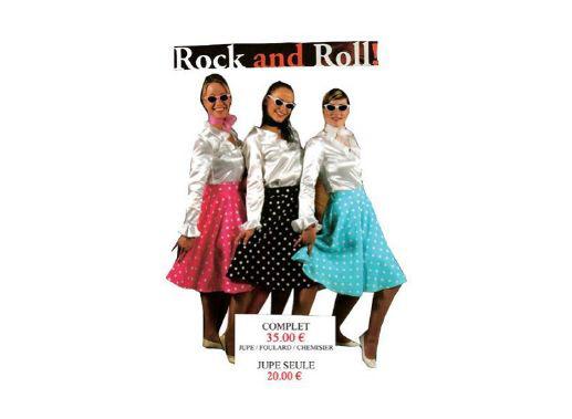 Déguisement Rock'n Roll Punk
